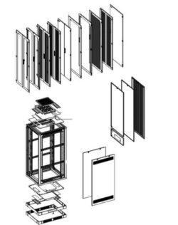 """19 """"Підлогові шафи серії RHF"""