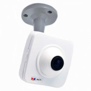 Фіксовані компактні камери з об'єктивом Fisheye acti