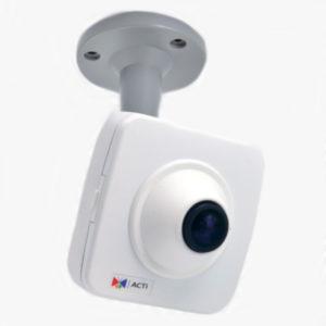 Фіксовані компактні камери з об'єктивом Fisheye