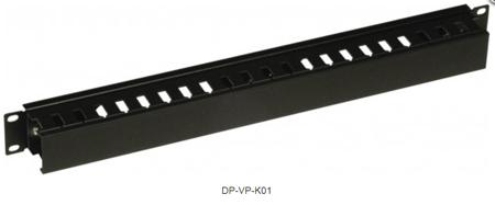 Кабельный организатор с пластиковым каналом DP-VP-K01