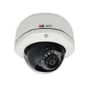 Купольные камеры с фиксированным объективом ACTi