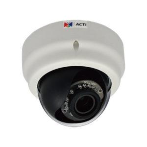 Купольные камеры с трансфокатором (Zoom) объективом ACTi