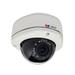 Купольные камеры с варифокальным объективом ACTi
