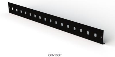 Лицевая панель для волоконно-оптической полки