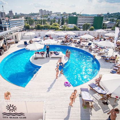 Монтаж СКС для City Beach Club